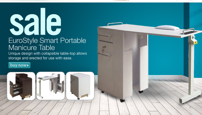 Sale Eutostyle Smart Portable Manicure Table