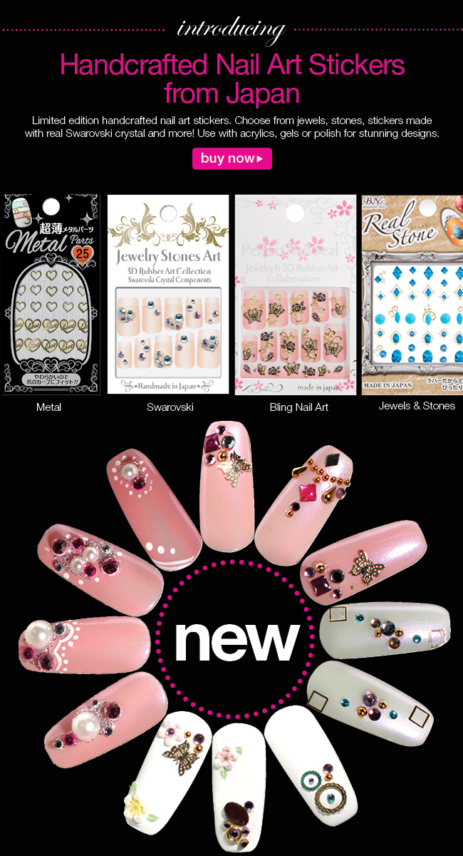 BeautyTech Forums - Handcrafted Nail Art Stickers from Japan
